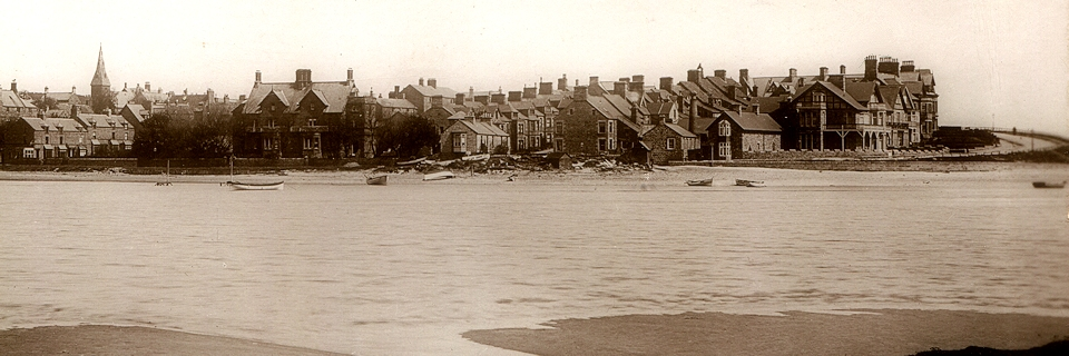 Alnmouth from Waterside 1912