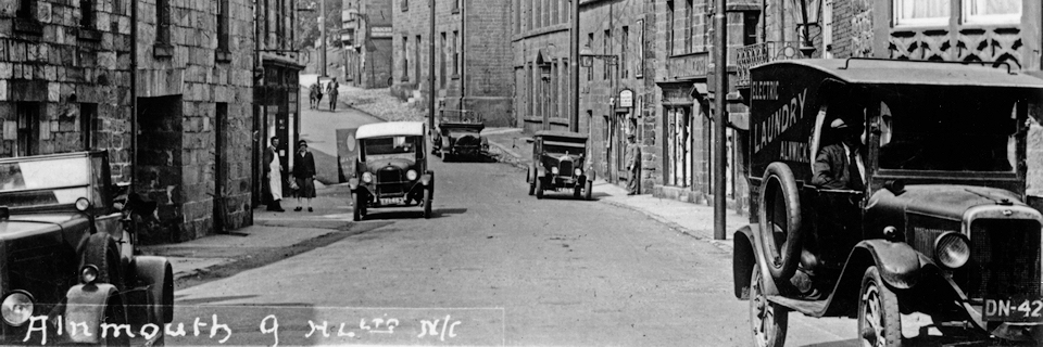 Northumberland Street, Alnmouth pre-1920