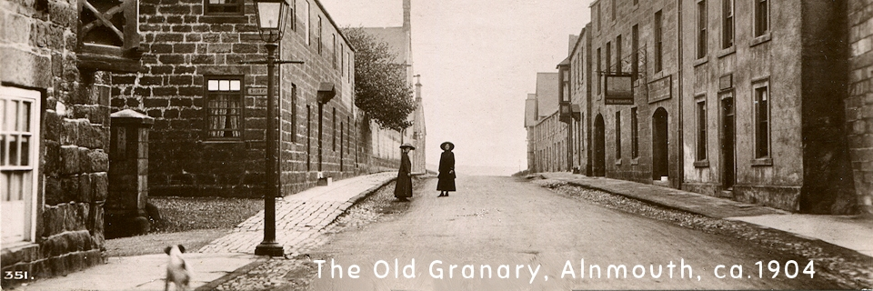The Old Granary and The Schooner Inn, Northumberland Street, Alnmouth 1904